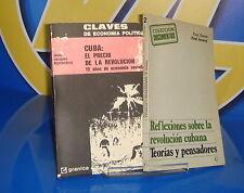 Libro CUBA: EL PRECIO Y LA REVOLUCION-REFLEXIONES SOBRE LA REVOLUCION CUBANA