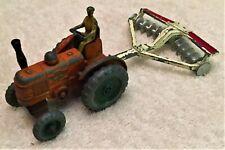 Dinky Toys Field Marshall Tractor & Disc Harrow 301 & 322
