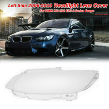 Left Clear Headlight Headlamp Lens Cover For BMW M3 E92 E93 3 series coupe 06-10