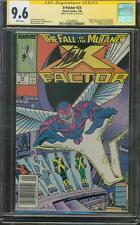X Factor 24 CGC SS 9.6 Stan Lee Sign Apocalypse Movie 1st Archangel 88 Simonson
