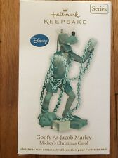 Hallmark Keepsake Ornament Mickey's Christmas Carol Series #2 Goofy Jacob Marley