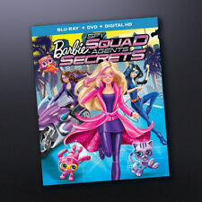 Brand New Sealed Barbie Spy Squad Blu-Ray +DVD + Digital HD + Ultraviolet