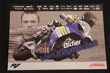 Card Yamaha YZF-R1 2010 #83 Didier van Keymeulen (BEL) IDM Superbike (HW)