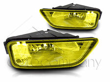 2004-2008  Acura TL Fog Light JDM w/ Wiring Kit & Wiring Instruction - Yellow