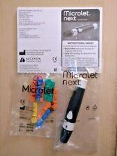 MICROLET BAYER NEXT GLICEMIA foratura alla lancia dispositivo per Contour Next + 10 lancette