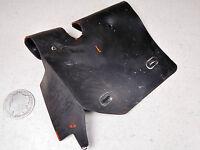 83 SUZUKI SP125 BATTERY BOX HOLDER BRACKET RUBBER MUD SPLASH GUARD