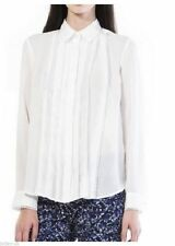 Topshop Classic Collar Long Sleeve Tops & Shirts for Women