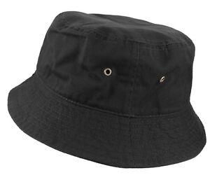 Bucket Hat Cap Cotton Military Fishing Camping Hunting Travel  Sun Safari Summer