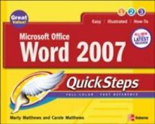 How to Do Everything: Microsoft Office Word 2007 by Carole Matthews and Marty Ma