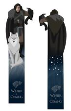 Jon Snow (Game of Thrones) 2 sided bookmark, PDF, A4 instant download