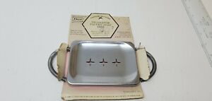 EKCO decorator faucet soap dish vintage original NOS old store stock farm sink