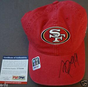 ALDON SMITH Signed New Unused San Francisco 49ers Cap Auto PSA/DNA COA Autograph