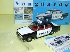 FORD ZEPHYR 6 MK III POLICE VANGUARDS VA46000 1:43
