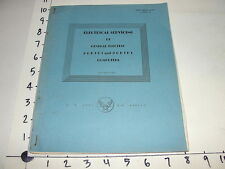 US Army Air Forces WTTC Manual 30-38 General Electric Computers Servicing 1945