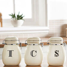 Ceramic Contemporary Kitchen Sugar Canisters