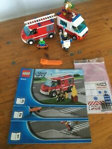 Legp 60023 City, Starter Fire, Police & Ambulance, Pre-Owned Complete no box.