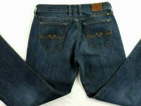 Lucky Brand Womens 8/29 Sweet N Flare Dark Wash Stretch Flare Legs Denim Jeans