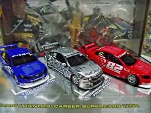 1:43 Craig Lowndes Career Supercars Wins (Triple Pack) Classic Carlectables