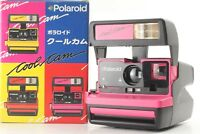 【MINT IN BOX】VINTAGE POLAROID 600 COOL CAM PINK & GRAY INSTANT FLASH From Japan