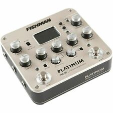 Fishman Pro Platinum EQ Preamp Pedal for Acoustic Guitar PROPLT201