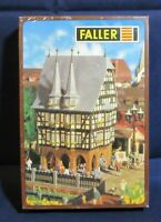 Faller HO Scale B-936 Bavarian Town Hall New in Original Shrink Wrap NOS