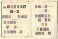 Cyprus Collection 1880 to 1914 on 2 Scott Specialty Pages, Classic Stamps