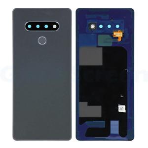 OEM LG Stylo 6 Q730AM Q730TM Back Cover Battery Door Camera Lens White Black
