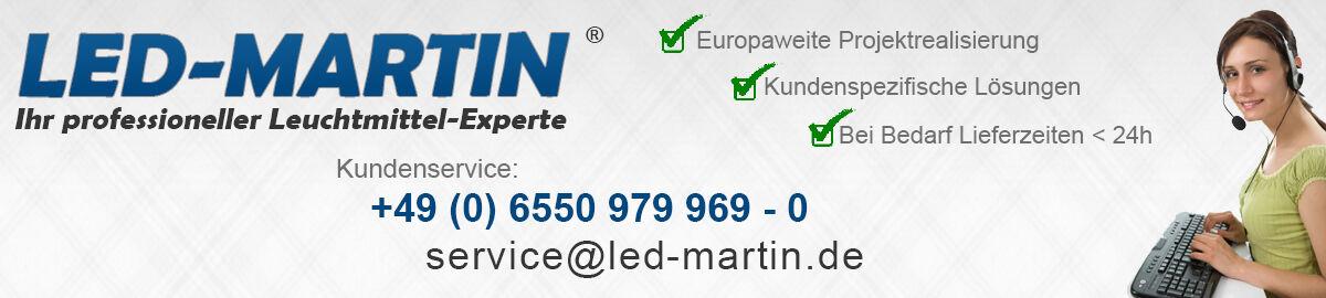 LED-MARTIN Umfeldbeleuchtung K3 sto/ß und wasserfest