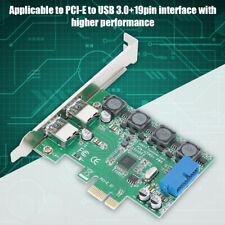 PCI-E Express to USB 3.0 + 19pin 4 Power Supply Modes Expansion Card for Desktop