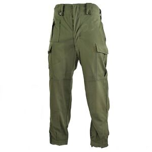 Original Belgian army field combat pants M65 olive green military pants surplus