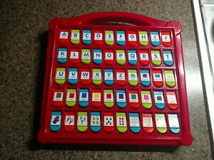 Battat Hide & Seek Alphabet Pop Up 50 Shapes Colors Letters Numbers Learning Set