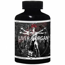 Rich Piana 5% Nutrition LIVER & ORGAN DEFENDER DIETARY SUPPLEMENT 270Capsules