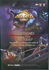 Allods Online Game 2011 Magazine Advert #287