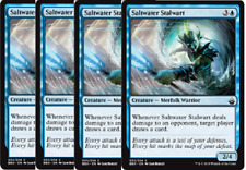 4x Saltwater Stalwart  -NM- Battlebond MTG Blue Common