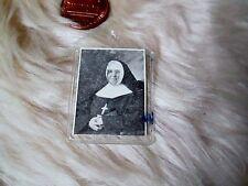 "Venerable Elizabeth Bergeron Relic Plastic Pocket You Can Carry 1 1/4"" x 1"""