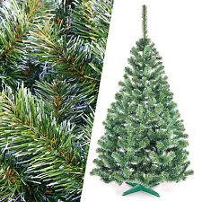 180 cm Weihnachtsbaum künstlicher Christbaum Tannenbaum Kunstbaum grün-weiß