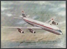 cartolina JAPAN AIR LINES DC-8C JET COURIER
