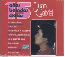 Juan Gabriel CD 15 Anos BALADAS Exitos Caja Rosa BRAND NEW SEALED !