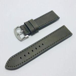 1Pc Leather Writst Watch Band Watch Srtap Watch Belt Accessory 18/20/22/24mm