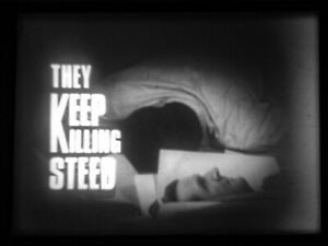 """16mm TV FILM: THE AVENGERS """"They Keep Killing Steed"""" (1968)"""