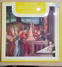 Philips Italian LP 6537 001 J S Bach Toccata E Fuga & Preludioo E Fuga