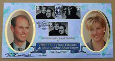 ROYAL WEDDING 1999 BENHAM FDC WINDSOR H/S SIGNED BY TENNIS PLAYER SUE BARKER