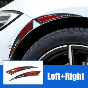 Car Body Wheel Eyebrow Arch Protector Strip Lips Fender Flares PVC Soft Plastic