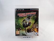 EARTH DEFENSE FORCE INSECT ARMAGEDDON SONY PS3 PLAYSTATION 3 PAL COMPLETO
