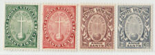 VATICAN 1933  ISSUE FULL SET UNUSED **  SASSONE 15/18 = SCOTT B1/4