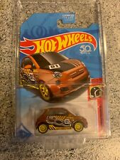 HOT WHEELS Super Treasure Hunt Fiat 500 HW DAREDEVILS 2/5 Real Riders VHTF Mint