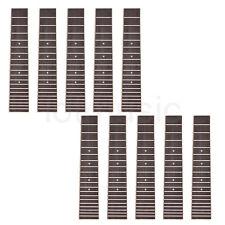 Ukulele Rosewood Fretboard Fingerboard for 28 Inch 6 String Ukelele Parts 10 Pcs