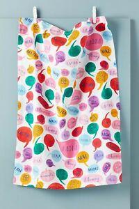 NWT Anthropologie Mr. Boddington's Studio for Mom Dish Towel
