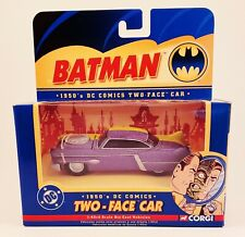 Two-Face Car Corgi 1950's DC COMICS BATMAN 1:43 Scale NEW!