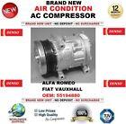 Denso Aire acondicionado CA Compresor Para Alfa Romeo Fiat Opel OEM: 55194880